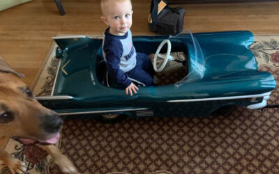 Leo and His Custom Cadillac Toy Car