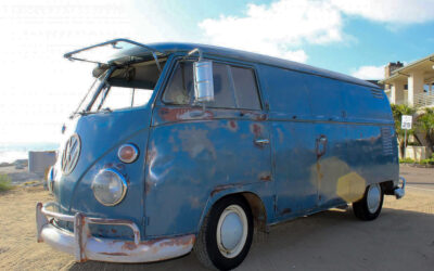 The 1962 VW Panel Van: Miles Already Gone