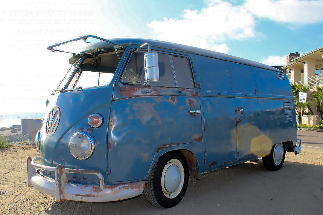 The 1962 VW panel van that cause so many problems.