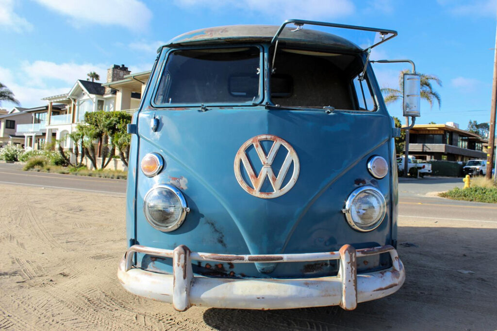 A classic 1962 VW panel van is a high mileage nightmare.