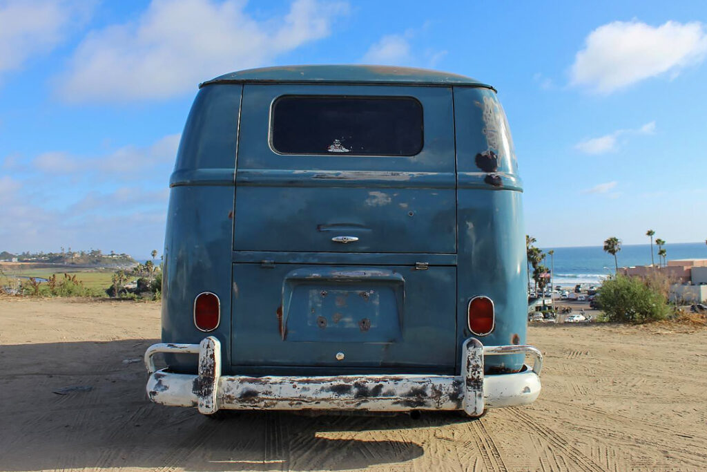 It smelled bad and ran worse, the 1962 VW panel van.