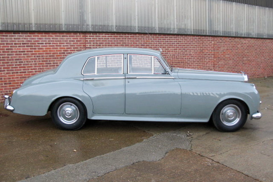 The Bentley Bar Car was a 1956 Bentley S1 saloon.