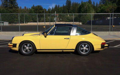 The 1976 Porsche 911S Targa Enters the Minnick Stable