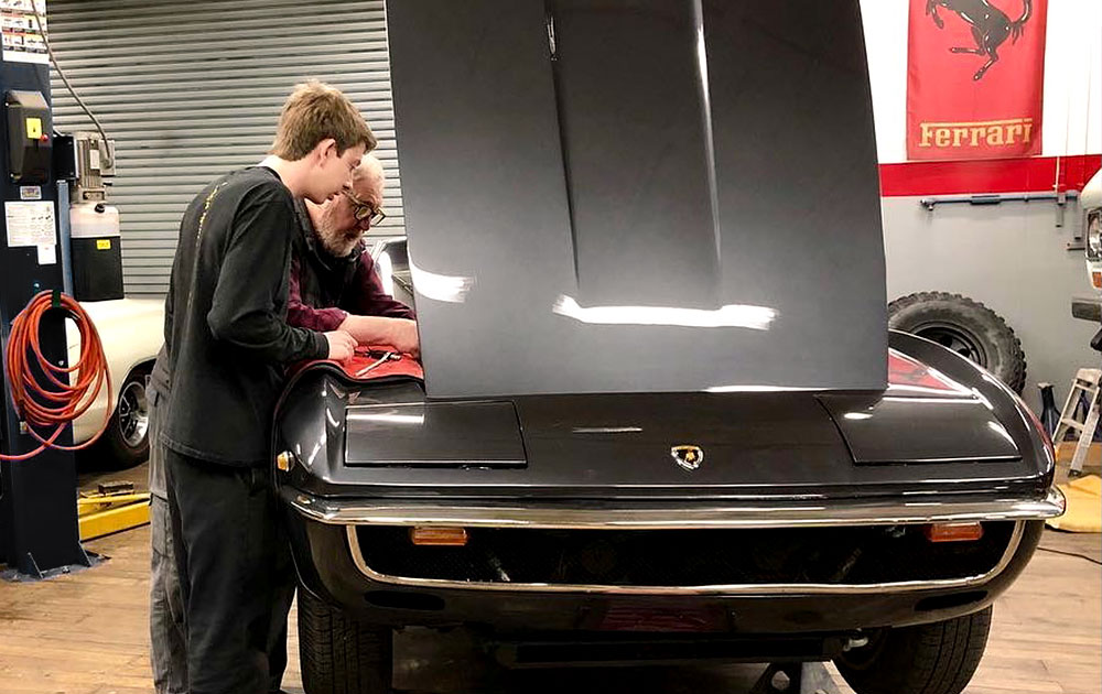 The Frank Buonanno Scholarship Fund will young people pursue careers in collector car restoration.