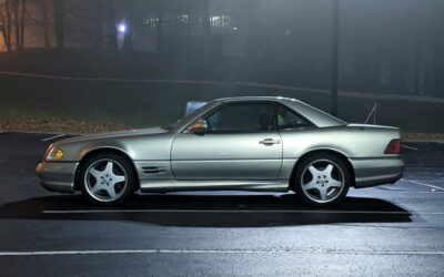 Getting an Education from a 1999 Mercedes SL500