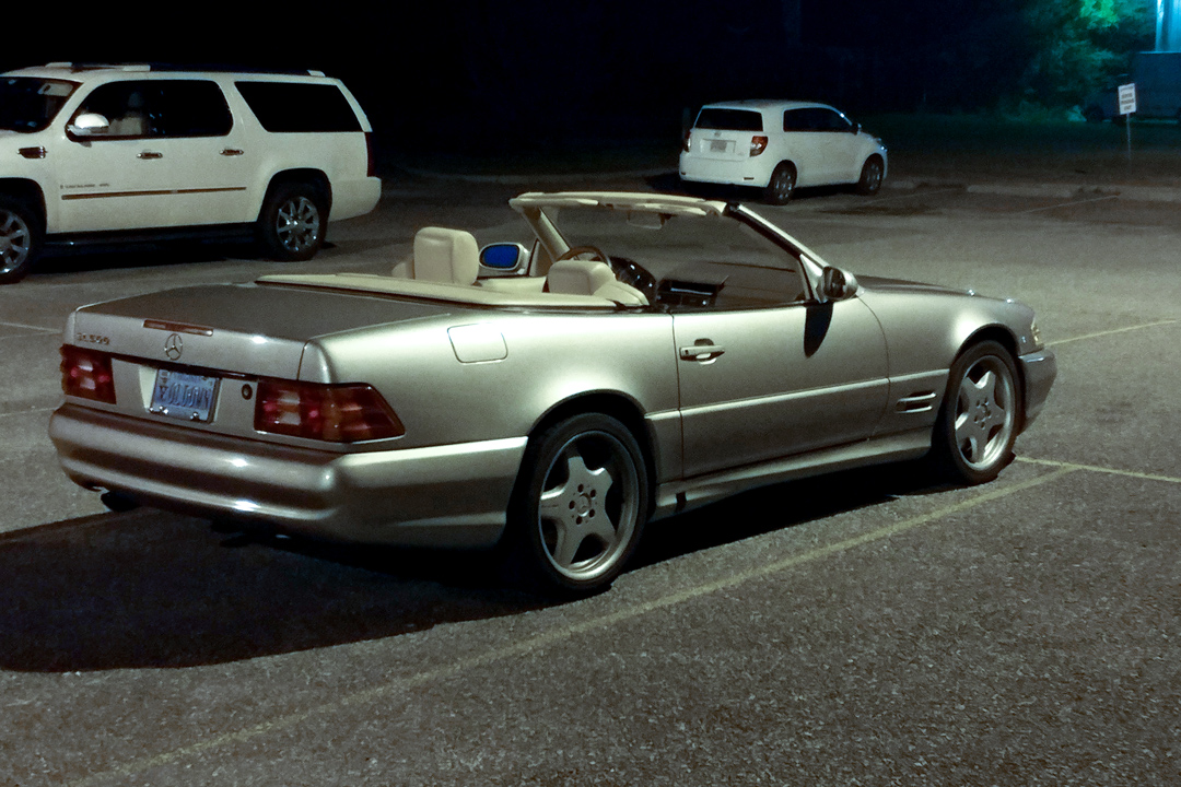 You can learn a lot from a 1999 Mercedes SL500