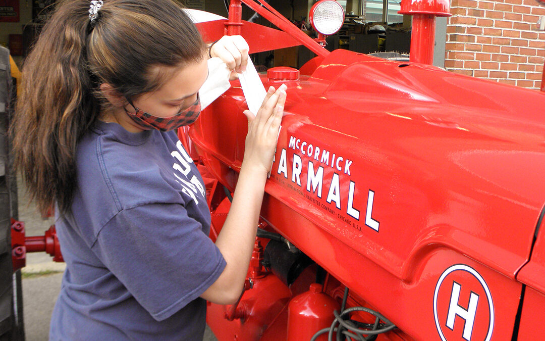 Checking in with the Wamogo Tractor Restoration Team