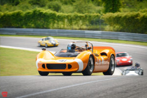 Vintage racing at Lime Rock Historic Festival