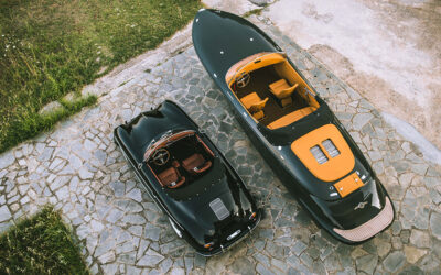 Hermes Speedster: A Porsche Tribute for the Water